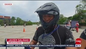 FOTO: Realizan curso para motociclistas en Oaxaca, 16 Junio 2019
