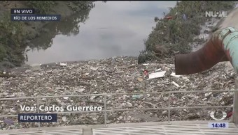 Foto: Realizan obras para prevenir otro desbordamiento del Río de los Remedios