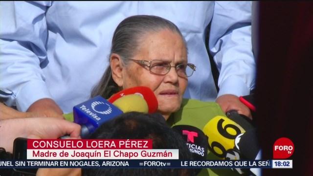 FOTO: Recibe madre de 'El Chapo' visa americana, 1 Junio 2019