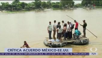 Reforzar frontera expone a migrantes, dice la OIM