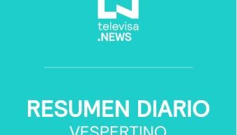 Foto: Noticias Destacadas Tarde Noticieros Televisa 24 Septiembre 2019