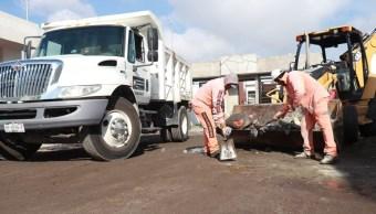 Foto: retiro de basura en Hidalgo, 6 de junio 2019. Twitter @gobiernohidalgo