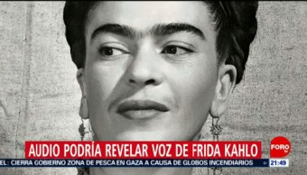 Foto: Audio Voz Frida Kahlo 12 Junio 2019