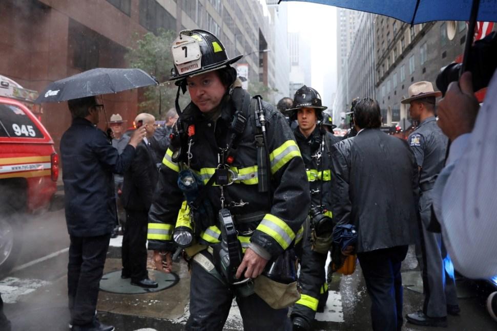 Foto Se estrella helicóptero contra rascacielos en Nueva York 10 junio 2019