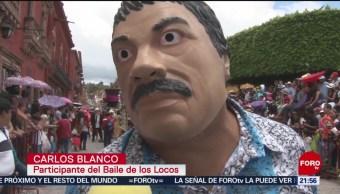 FOTO: Se realiza en San Miguel de Allende 'El baile de los locos', 16 Junio 2019