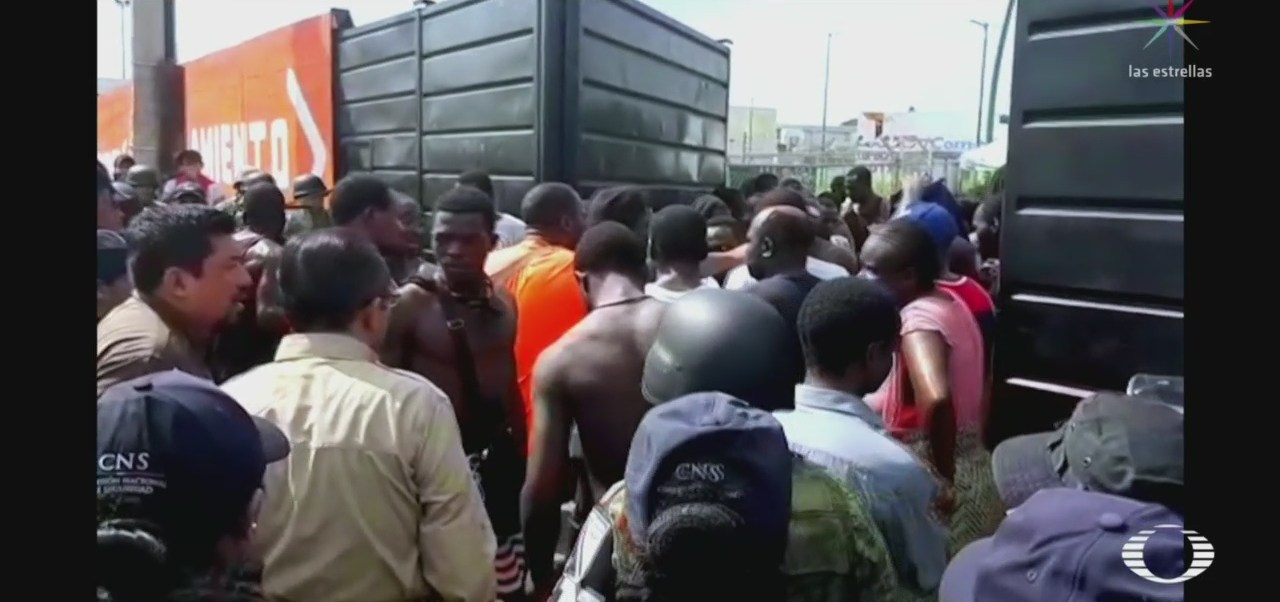 Foto: Motín Migrantes Tapachula 18 Junio 2019