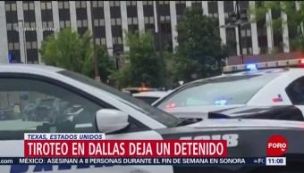 FOTO: Se registra tiroteo en centro de Dallas, Texas