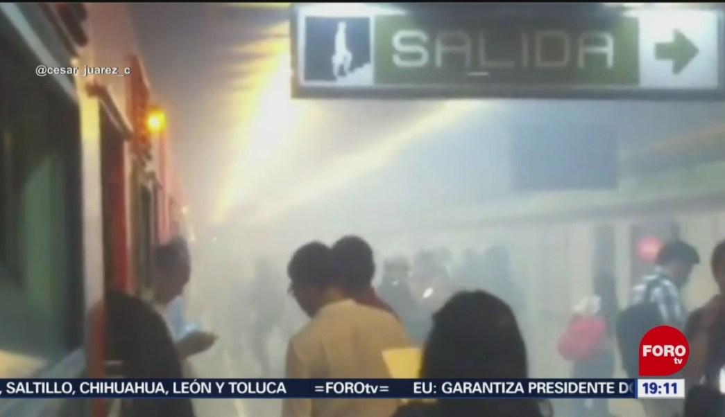 Foto: Reportan Fallas Línea 3 Metro Cdmx 6 Junio 2019