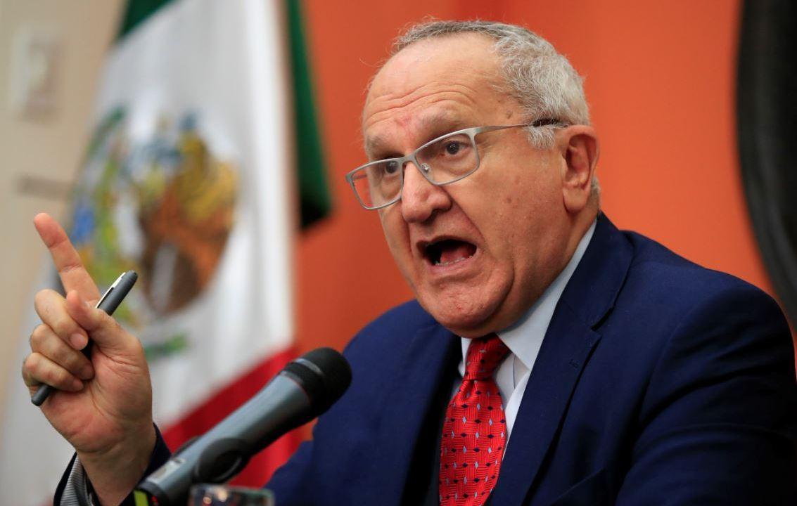 Imagen: El subsecretario para América del Norte de la Secretaría de Relaciones Exteriores (SRE), Jesús Seade, el 2 de junio de 2019 (AP)
