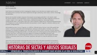 FOTO: Sectas que han sido acusadas de abusos sexuales a sus seguidores