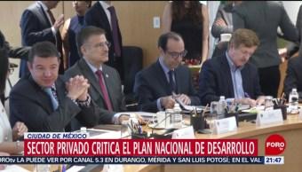 Foto: Sector Privado Plan Nacional Desarrollo 17 Junio 2019