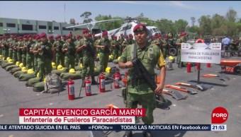 Foto: Sedena Operativo Temporada Huracanes México 27 Junio 2019