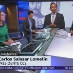 Seguimos siendo un país con grado de inversión: Carlos Salazar
