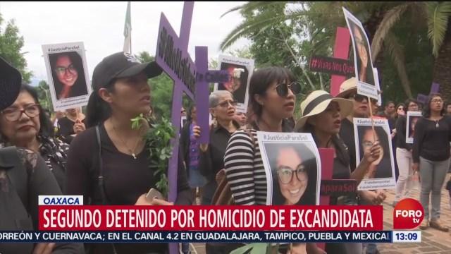 FOTO: Segundo detenido por homicidio de candidata a regidora en Juchitán 2 Junio 2019