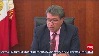 Foto: Senadores Canciller Ricardo Monreal Migración 10 Junio 2019