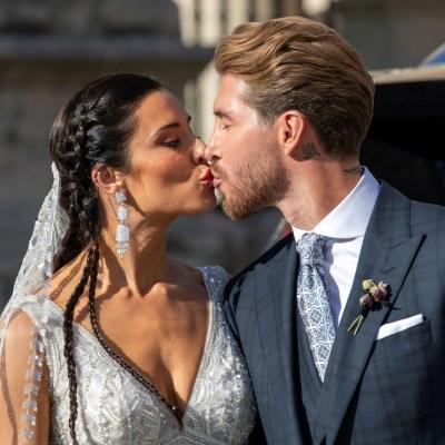 El futbolista Sergio Ramos y Pilar Rubio se casan en la Catedral de Sevilla