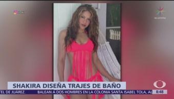 Shakira ahora diseña trajes de baño