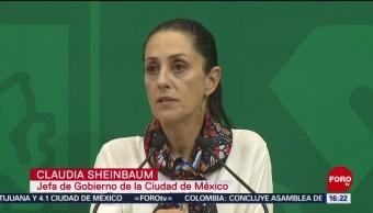 FOTO: Sheinbaum habla sobre la presencia de la Guardia Nacional en CDMX, 29 Junio 2019