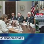 Siguen las negociaciones sobre aranceles de Estados Unidos a México
