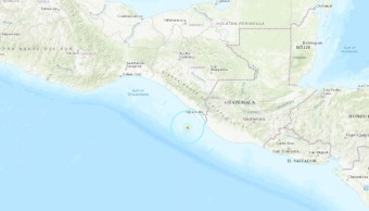 Foto: El epicentro del sismo fue a 104 kilómetros al suroeste de Ciudad Hidalgo, Chiapas, el 22 de junio de 2019 (Twitter @USGSted)