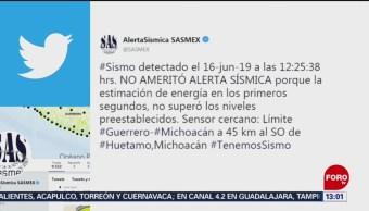 FOTO: Sismo de magnitud 5.1 sacude Michoacán, 16 Junio 2019