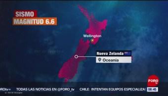 FOTO: Sismo de magnitud 6.6 en Nueva Zelanda, 16 Junio 2019