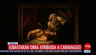 Subastarán en Francia una pintura atribuida a Caravaggio