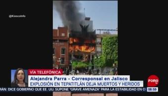 FOTO: Suman 4 muertos por explosión en Tepatitlán de Morelos, Jalisco, 16 Junio 2019