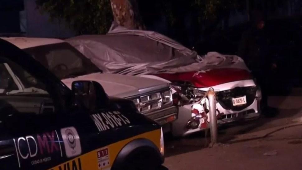 Foto: Taxi atropella a mujer embarazada, Ciudad de México