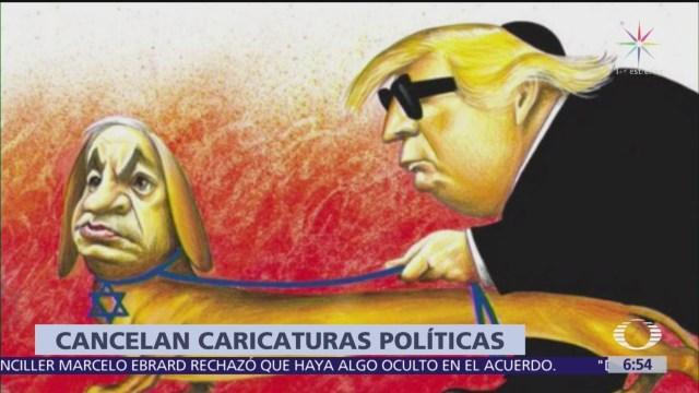 The New York Times cancela caricaturas políticas