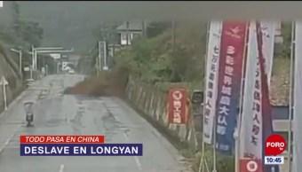 Todo Pasa En China: Deslave en Longyan