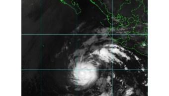 IMAGEN Se forma Alvin, primera tormenta tropical en Pacífico (Conagua 26 junio 2019 cdmx)