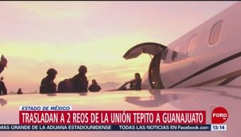 FOTO: Trasladan a 2 reos de la Unión Tepito a Guanajuato
