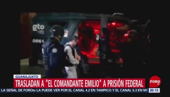 Foto: Trasladan Comandante Emilio Penal Ocampo 18 Junio 2019