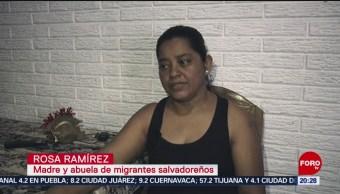 Foto: Madre Abuela Migrantes Ahogados Rio Bravo 26 Junio 2019