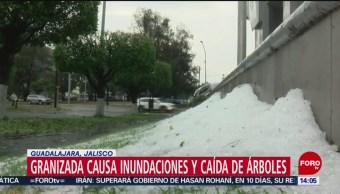 FOTO: Tromba en Guadalajara deja varias viviendas afectadas, 17 Junio 2019