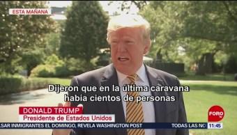 FOTO: Trump agradece a México por acciones migratorias, 22 Junio 2019