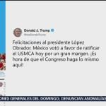 FOTO: Trump felicita a AMLO por ratificación del T-MEC