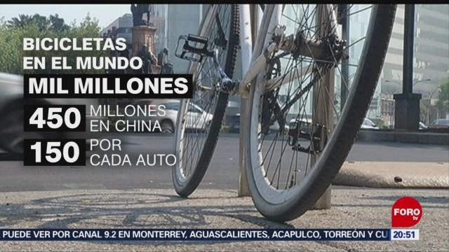Foto: Día Mundial de la Bicicleta Uso CDMX 3 Junio 2019