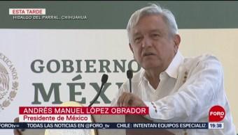FOTO: Vamos a saciar la sed de justicia, dice AMLO en Chihuahua, 15 Junio 2019