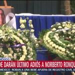Velan cuerpo de Norberto Ronquillo en la CDMX