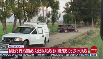 Foto: Violento fin de semana en Guanajuato; matan a 9 personas