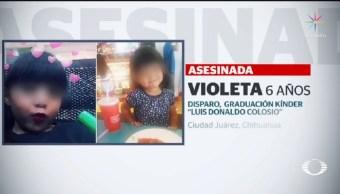 Identifican a responsables de muerte de niña en Chihuahua