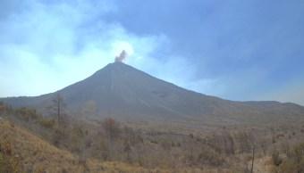 Foto: Volcán de Colima, 11 de mayo 2019. Twitter @PC_Colima