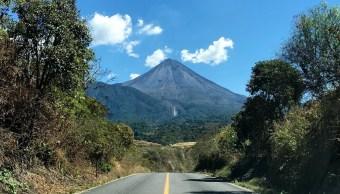 Foto: Volcán de Fuego de Colima, 14 de junio 2019. Twittter @berthareynoso