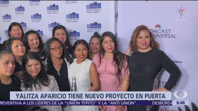 Yalitza Aparicio tiene nuevo proyecto