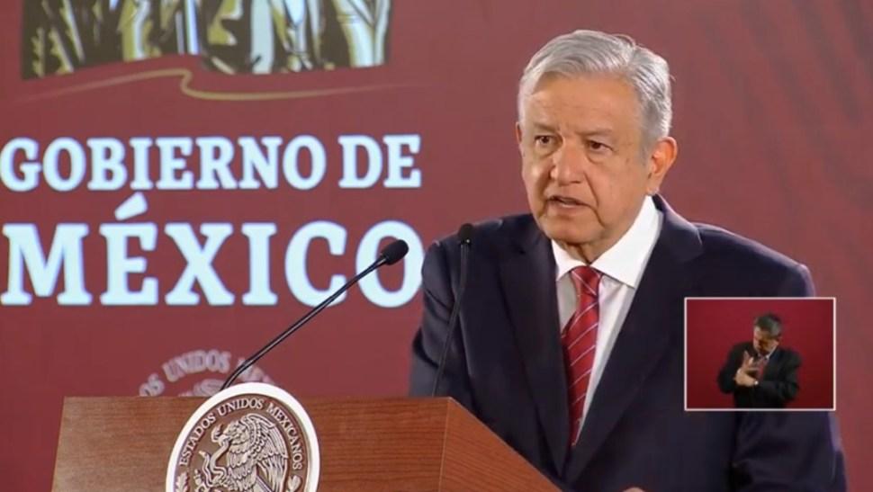 Foto: López Obrador en conferencia de prensa, 31 de julio de 2019, Ciudad de México