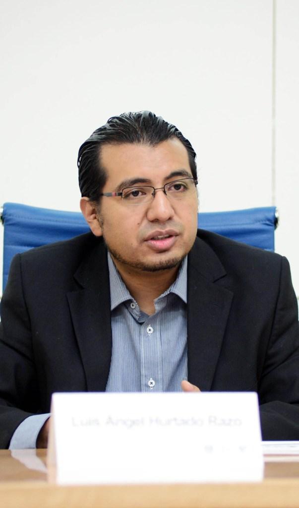 Foto: Luis Ángel Hurtado, académico de la UNAM, 19 de julio de 2019 (UNAM)