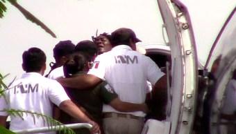 FOTO A mordidas, golpes y empujones, migrantes intentaron evitar deportación de México 29 JUNIO 2019
