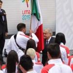 AMLO abandera delegación mexicana que asistirá a Juego Panamericanos 2019
